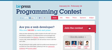 Binpress Programming Contest