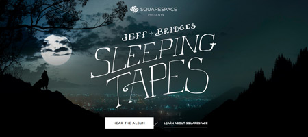 Jeff Bridges Sleeping Tapes