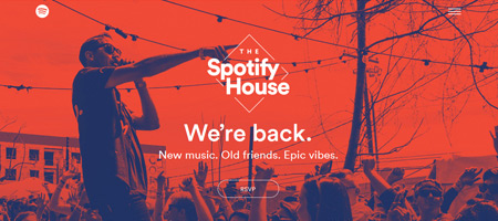 The Spotify House