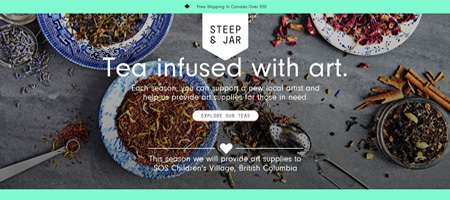 Steep & Jar