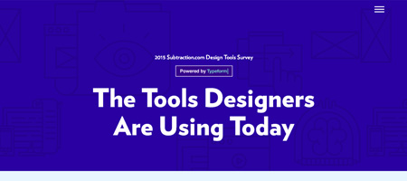 The Tools Designers Are Using Today